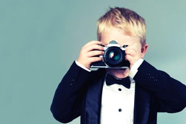 子供カメラマン