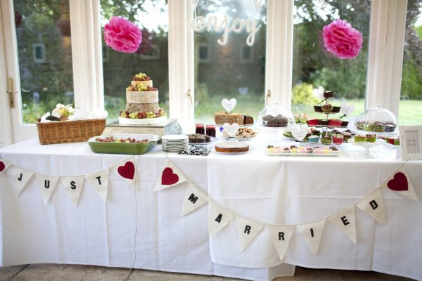 Table of cakes for wedding / celebration
