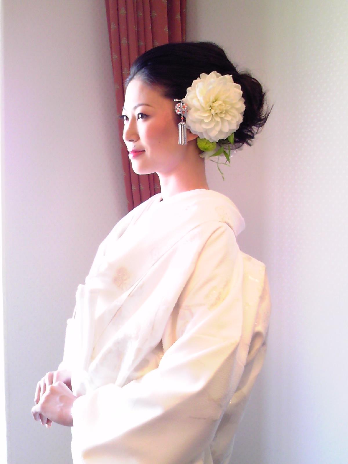 出典元:ltr.jugem.jp. 最近では和装に洋髪