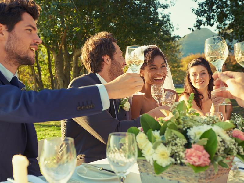 挨拶 結婚 例文 乾杯 式