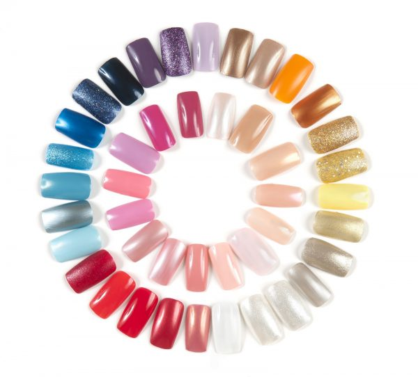 Colorful Artificial Nails