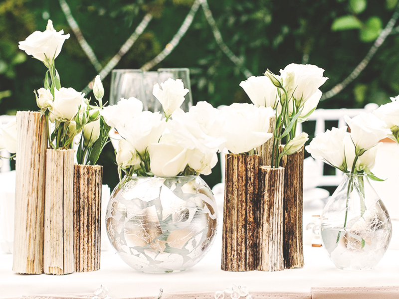ウェディング装花はシンプルがオススメ 節約もできて一石二鳥 First